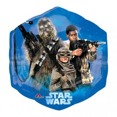Фольгированный круг - Звездные войны. 46 см.