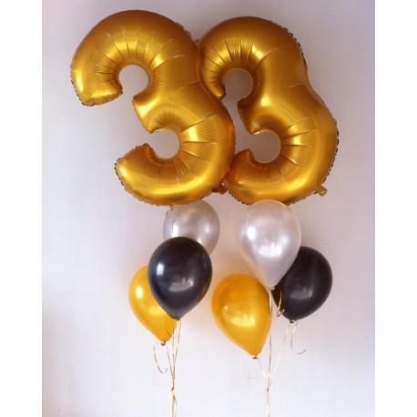 Шары на День Рождения №8