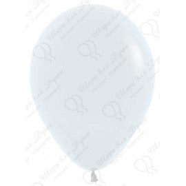 Воздушный шар белый, 30 см.