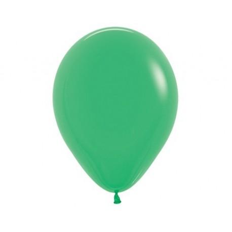 Воздушный шар весенне-зеленый, 30 см.