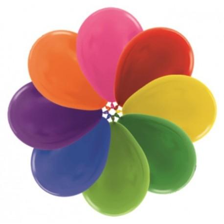Воздушные шары ассорти металлик, 30 см.