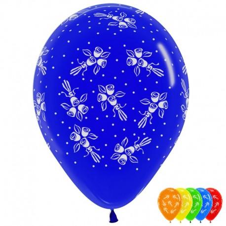 Воздушный шар букеты Ассорти, 30 см.