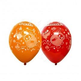 Воздушный шар 38 см Винни, пастель.