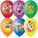 Воздушный шар 38 см Дисней ассорти, Микки, пастель.