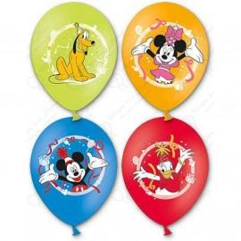 Воздушный шар  38 см Микки Маус, пастель, ассорти.