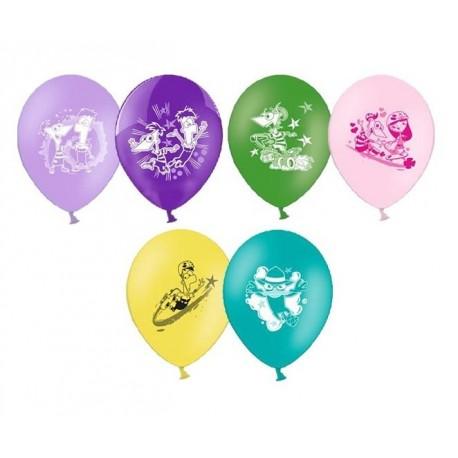 Воздушный шар Финес и Ферб, 25 см.