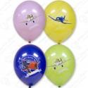 Воздушный шар 38 см Disney Самолеты, ассорти, пастель.