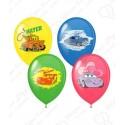 Воздушный шар 38 см Disney Тачки, ассорти, пастель.