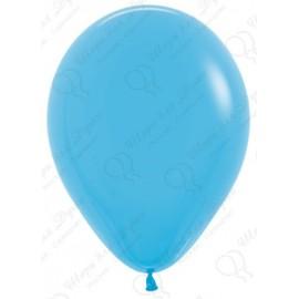 Воздушный шар, голубой, пастель для запуска в небо.