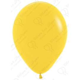 Воздушный шар, желтый, пастель для запуска в небо.