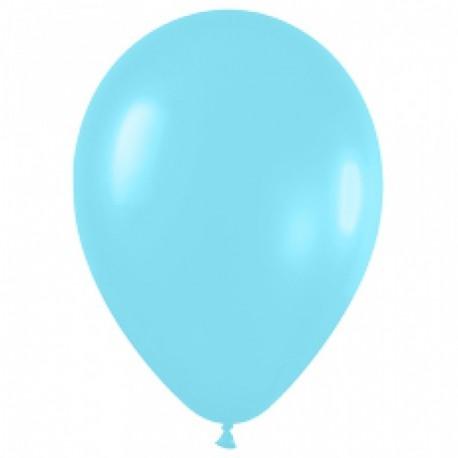 Воздушный шар Карибская синева для запуска в небо, 30 см