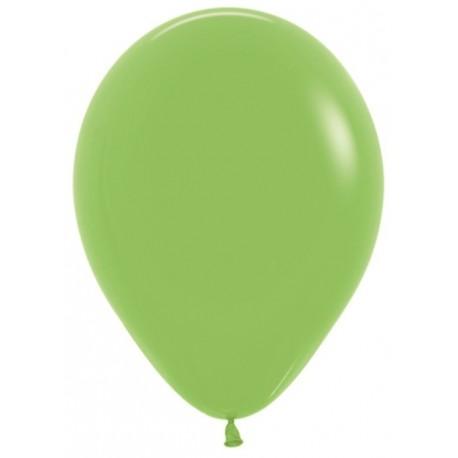 Воздушный шар лайм, пастель для запуска в небо, 30 см.