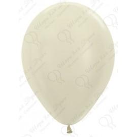 Воздушный шар слоновая кость, перламутр для запуска в небо.