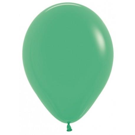 Воздушный шар зеленый, пастель для запуска в небо, 30 см.
