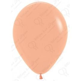 Воздушный шар персиковый, пастель для запуска в небо.