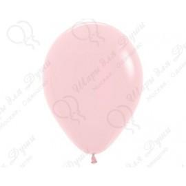 Воздушный шар светло-розовый для запуска в небо.