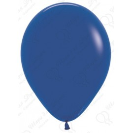 Воздушный шар синий, пастель для запуска в небо, 30 см.