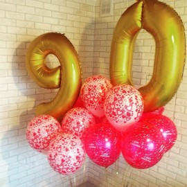 Шары на День Рождения №27