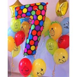 Шары на День Рождения №40