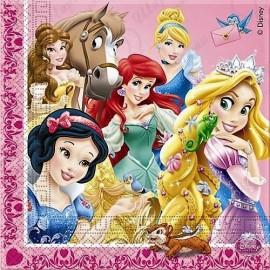 Сафетки Принцессы и животные, 33 см, 16 шт.