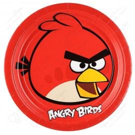 Набор одноразовых тарелок - Angry Birds.
