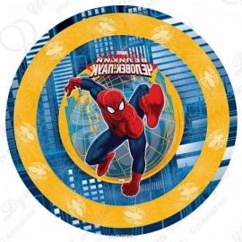 Набор одноразовых тарелок - Marvel Человек Паук.