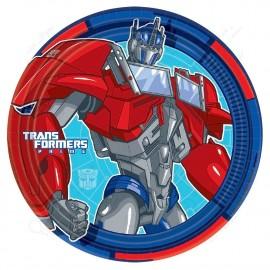 Набор одноразовых тарелок - Трансформеры.