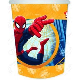 Стаканчики бумажные Человек - Паук, 250см, 6шт.