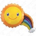 Фигурный шар - Солнечная радуга.