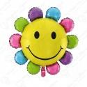 Фигурный шар - Солнышко разноцветное.