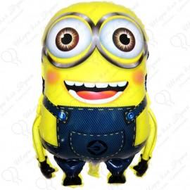 Фигурный шар - Миньон двухглазый, желтый.