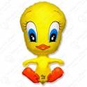 Фигурный шар - утёнок, желтый.