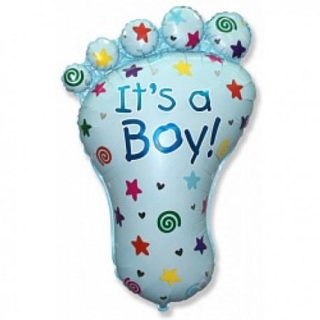 Фигурный шар - ступня мальчика. 89 см.