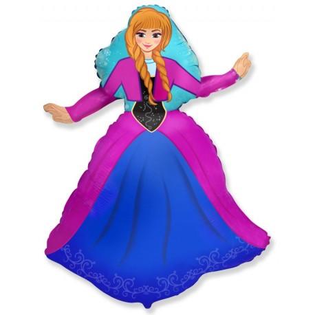 Фигурный шар - принцесса Алексия. 99 см.