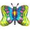 Фигурный шар - бабочка, золото.