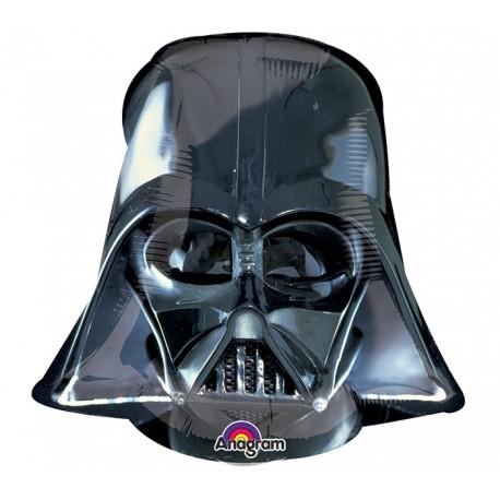 Фигурный шар - Звездные Войны Шлем Вейдера. 55 см.