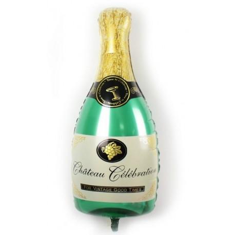 Шар - Бутылка шампанского.. 91 см.