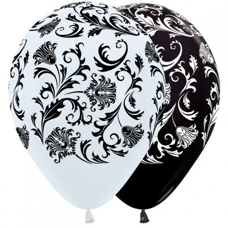 Воздушный шар - узоры, 30 см.