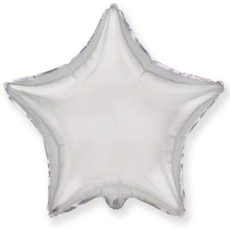 Фольгированный шар - Звезды титановые. 81 см.