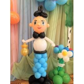 Мальчик из воздушных шаров.