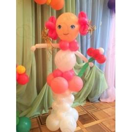 Девочка из воздушных шаров.