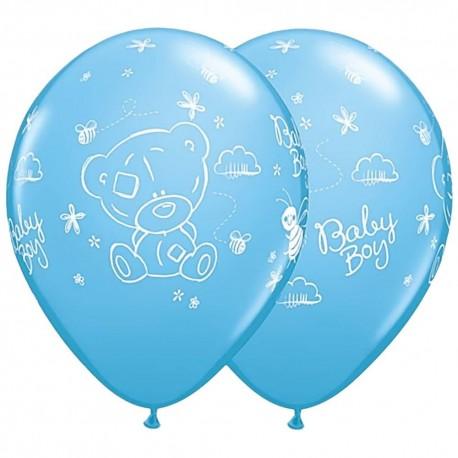 Воздушный шар Ура мальчик! ME TO YOU TINY, пастель. 30 см.