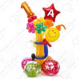 Воздушные шары на 1 Сентября - Первоклассники!