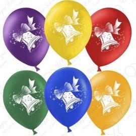 Воздушный шар Колокольчик, Ассорти, пастель, 30 см.