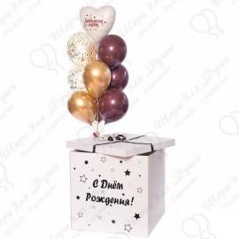 Коробка с шарами.