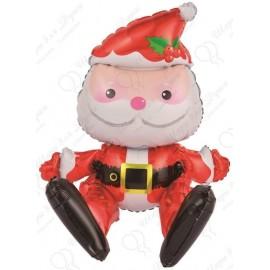 Шар (20''51 см) Фигура, Сидячий Дед Мороз