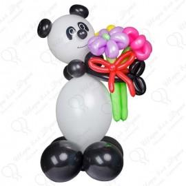 Мишка Панда из шариков