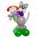 Кошка из воздушных шаров