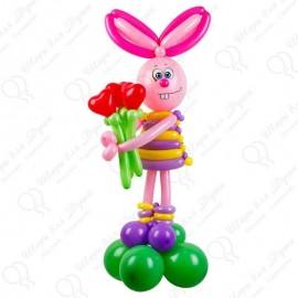 Кролик из шариков