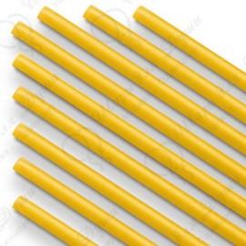 Палочки Желтые, 100 шт. (диаметр 5 мм, длина 370 мм)